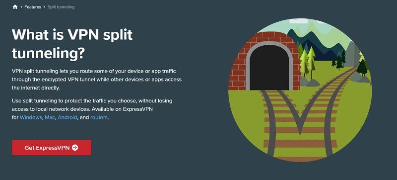 expressvpn tuneling
